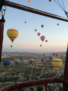 Ballooning in Cappadocia, Turkey