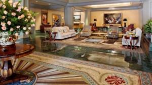Windsor Court Hotel Lobby